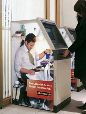 Funny wrong job: ATM operator