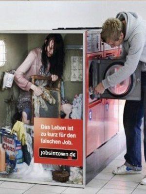 Wrong job again, laundry job