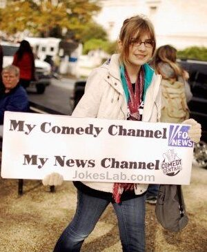 Get news from comedy