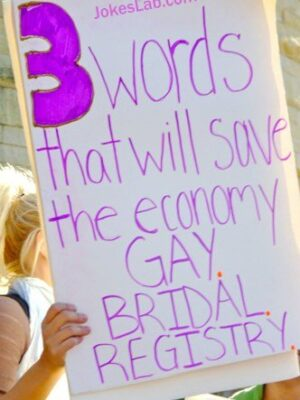 3 words that will save the economy: gay bridal registry