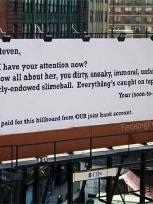 Wife's revenge to cheating husband