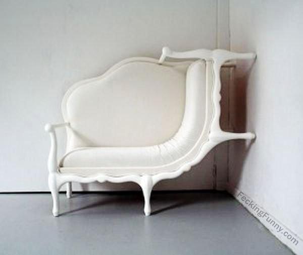 Funny designer's sofa