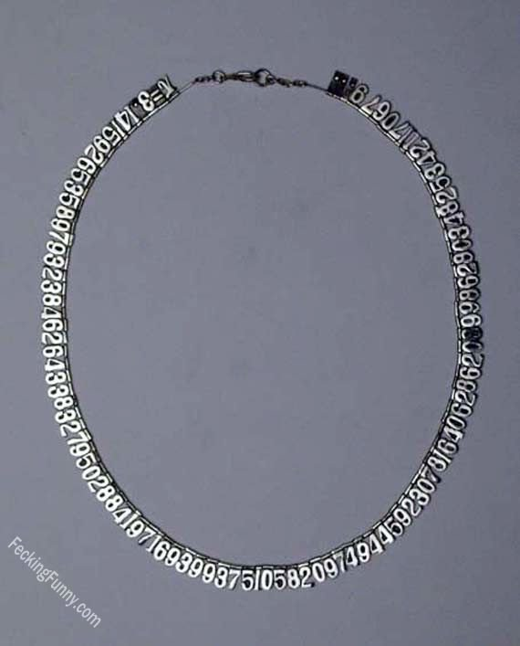 Necklace for mathematicians
