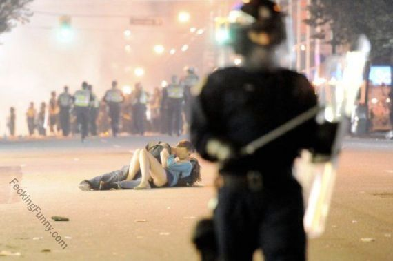 Making love, instead of the useless protest