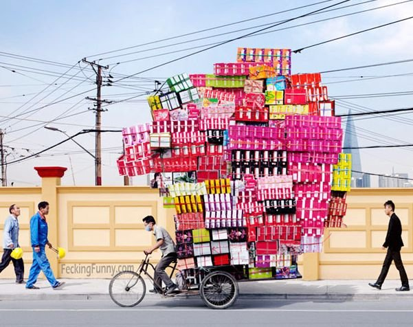 Office moving in China
