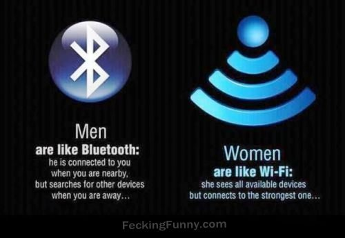 What is the difference between wifi and bluetooth