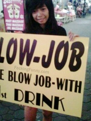Free blow job