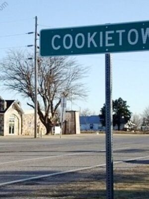 Funny US town name: Cookietown