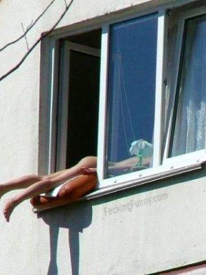 How to take sunbath at home?