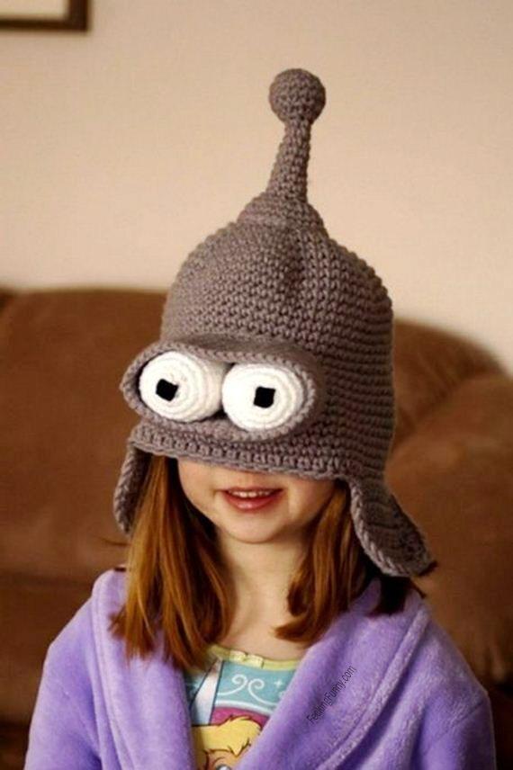 Funny hat for a little girl