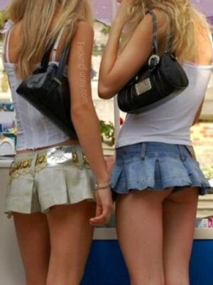 Mini-skirt girl: how short is short?