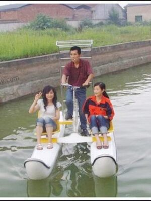 Overloaded water bicycles
