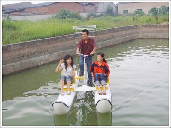 water-bicycles-in-action