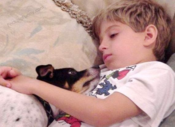 Why sleeping with dog is better than with a girl