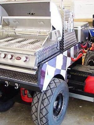 Giant barbecue grill