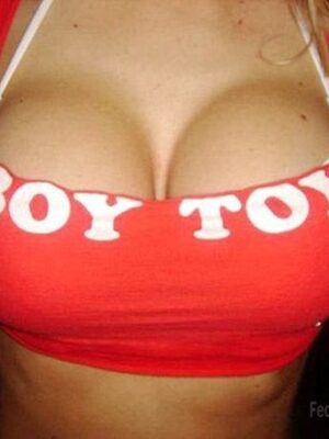 The best toy for boys: boobs
