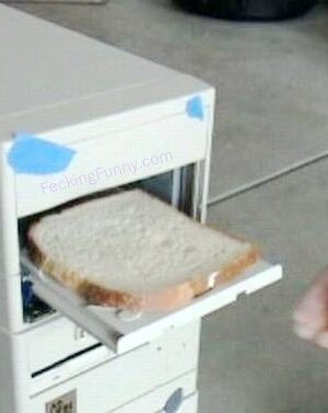 Computer toaster