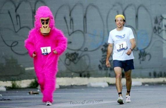 Mysterious runner