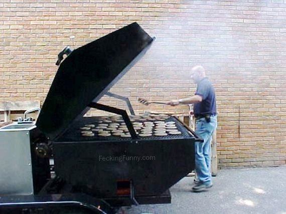 Giant grill