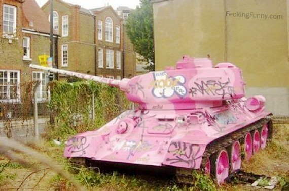 Tank for woman solider