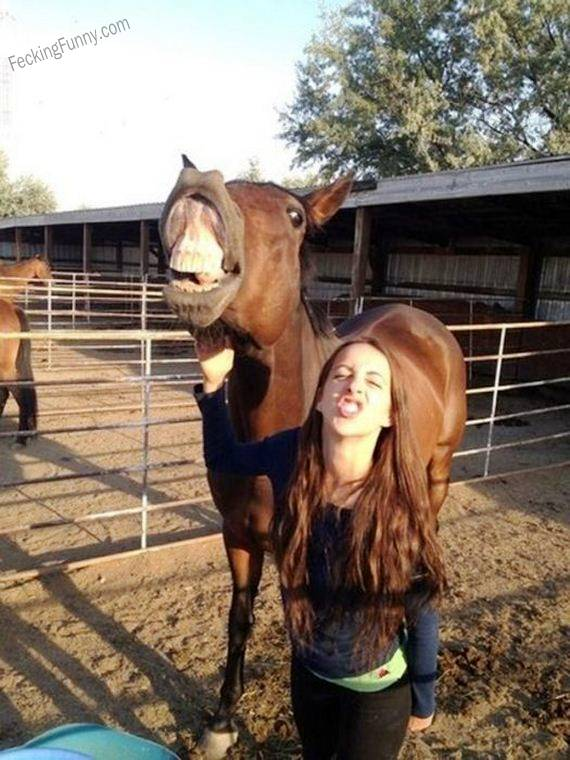 funny-girl-and-her-horse