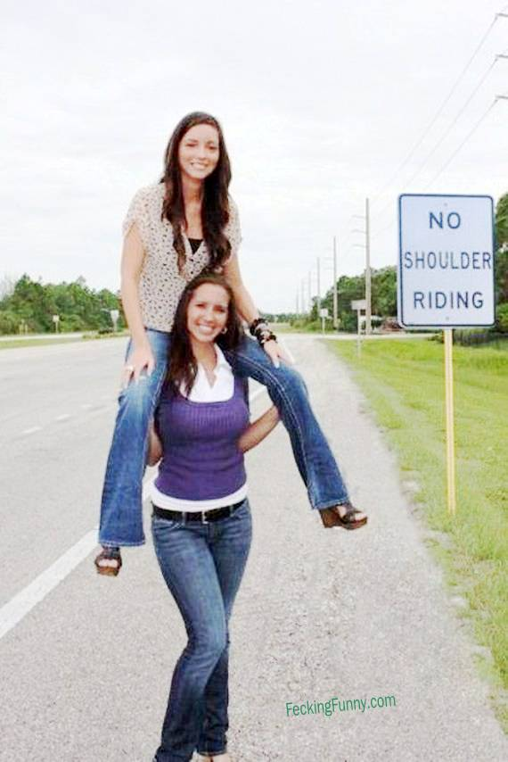 funny-sign-no-shoulder-riding-girls