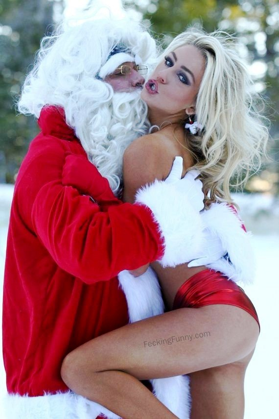horny-santa-again-hugging with a sexy female Santa