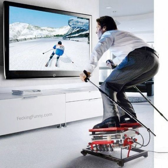 skiing-at-home