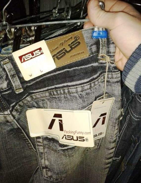 ASUS now makes jeans?