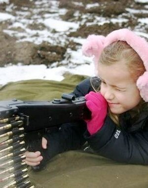 Baby girl shooting