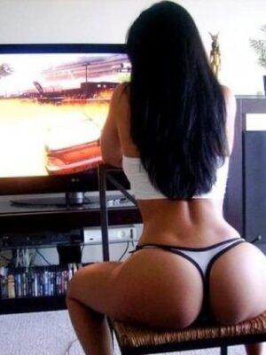 Giant butts in living room