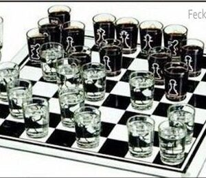 Booze chess, no loser