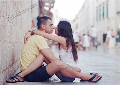 Romance on street