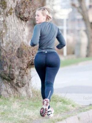 Exercise may result in giant buttocks for your wife
