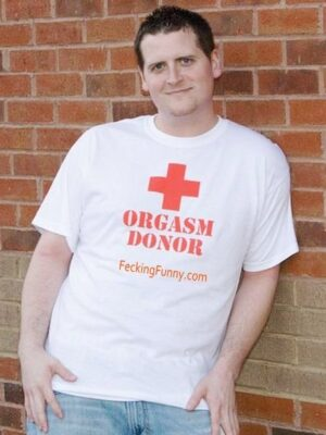 Shit slogan: organsm donor