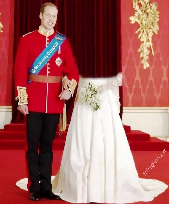 Topless Kate Middleton (with a man)