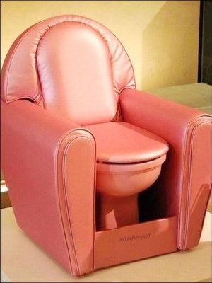 Toilet sofa