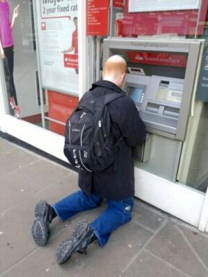 ATM of Arrogant Bank