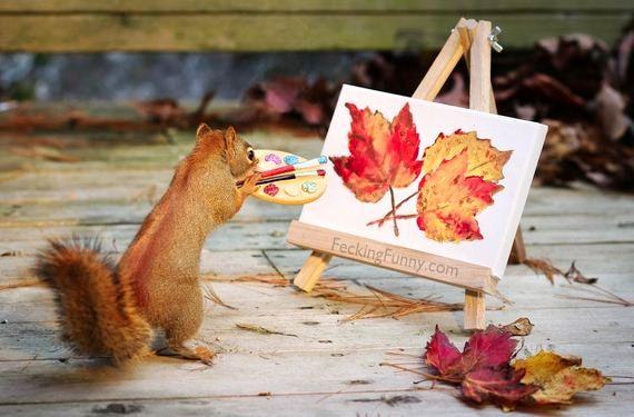 artist Squirrels