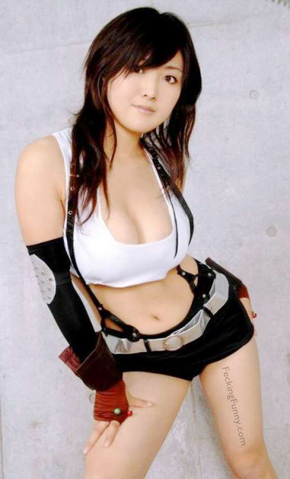 Sexy Asian cosplay girl