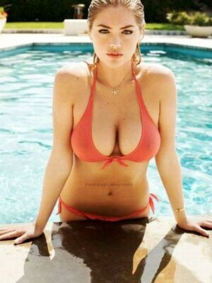 Boobs coming out of water