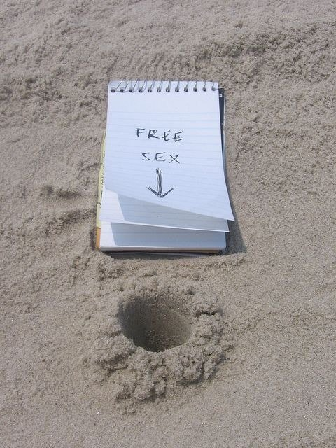 Who should stay away from the beach:  Anyone who want to get free sex on the beach